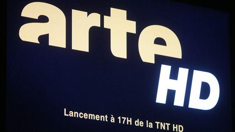(Aller sur la chaîne 7 ou la chaîne 57 pour voir si le téléviseur affiche en haut à gauche de l'écran le logo ARTE HD © MaxPPP)