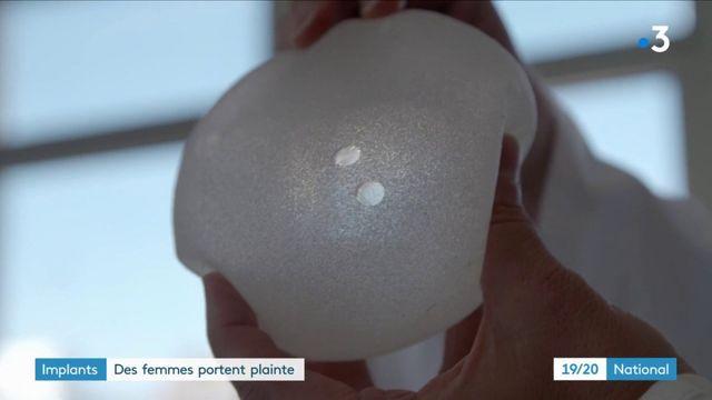 De nouvelles prothèses mammaires pointées du doigt