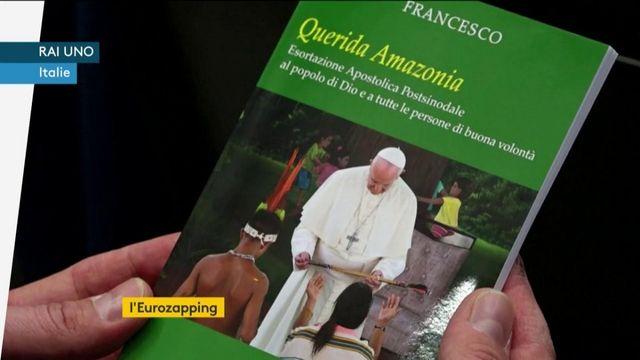 Eurozapping : Erdogan prêt à attaquer en Syrie ; le pape François rejette les prêtres mariés