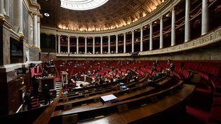 L'Assemblée nationale, le 25 septembre 2019 à Paris. (PHILIPPE LOPEZ / AFP)