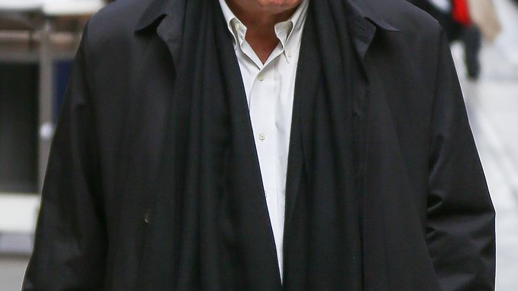 Dominique Strauss-Kahn, le 24 septembre 2013, à la gare du Nord, à Paris. (PAUL HUBBLE/FILMMAGIC/GETTY IMAGES)