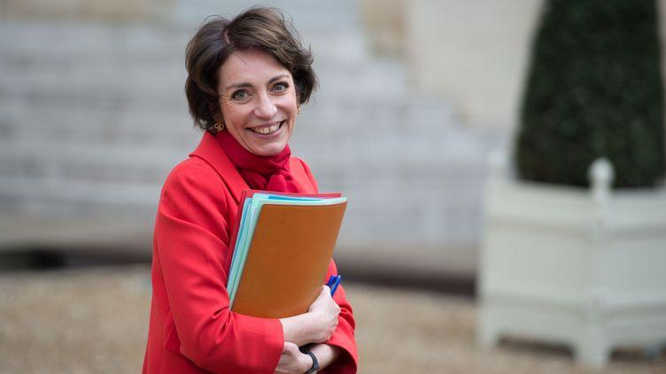 La ministre de la Santé, Marisol Touraine, dans la cour de l'Elysée, le 5 février 2014. (LCHAM / SIPA)