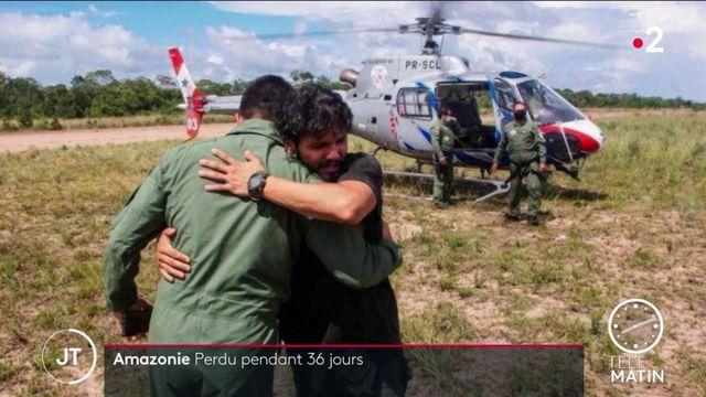 Brésil: après un crash, un pilote a survécu à 36 jours dans la forêt amazonienne