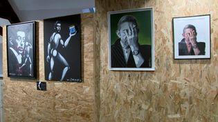 """L'exposition """"Gainsbourg? Affirmatif!"""" est une sélection d'archives photographiques et audiovisuelles. (capture d'écran France Télévisions)"""