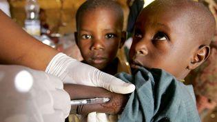 Une campagne de vaccination contre la méningite au Niger. (Photo d'archive) (ISSOUF SANOGO / AFP)