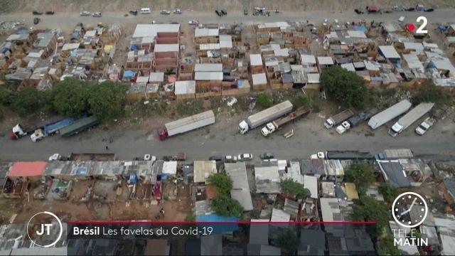 Coronavirus : au Brésil, l'épidémie a créé de nouvelles favelas