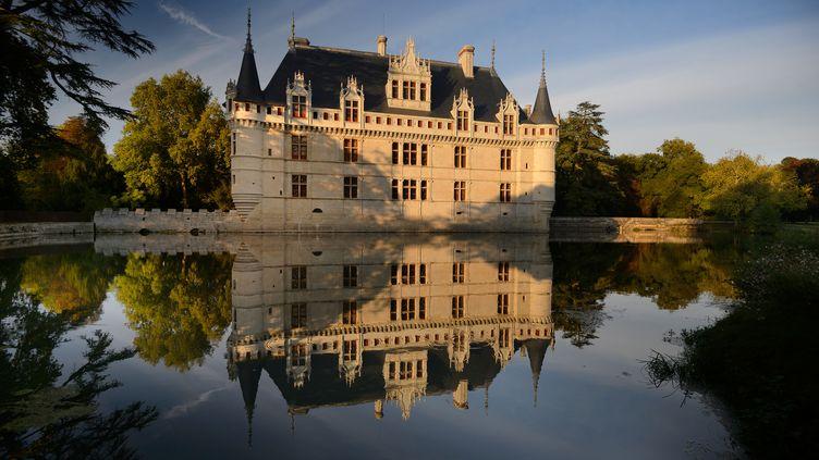 Le château d'Azay-le-Rideau, en Indre-et-Loire (11 avril 2019) (LEONARD DE SERRES / ONLY FRANCE / AFP)