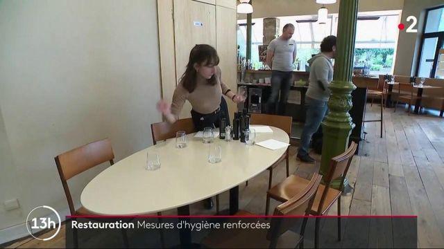 Covid-19 : pour les restaurateurs, des nouvelles mesures sanitaires et des conséquences économiques