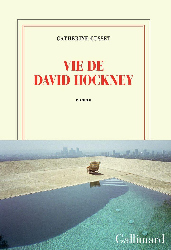 """La vie de David Hockney"" de Catherine Cusset  (Gallimard)"