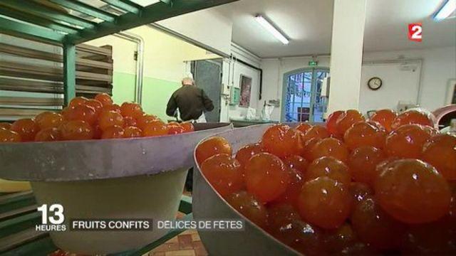 Fruits confits : délices de fêtes