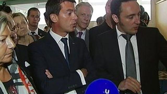 A Calais, Manuel Valls se mobilise pour les migrants
