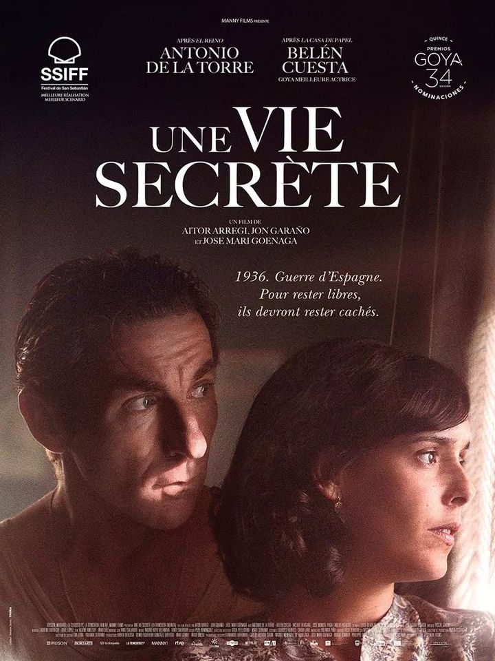 "L'affiche de""Une vie secrète"" deJon Garaño, Aitor Arregi et José Mari Goenaga. (EPICENTRE FILMS)"