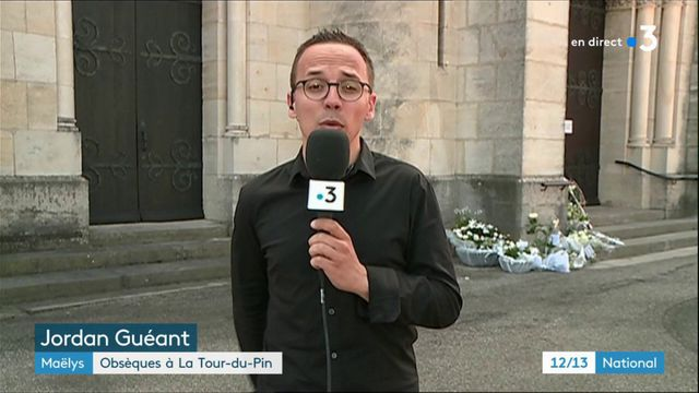Maëlys : un public habillé en blanc pour les obsèques