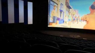 Reprise très lente de la fréquentation des salles de cinéma (Capture d'écran France 3)