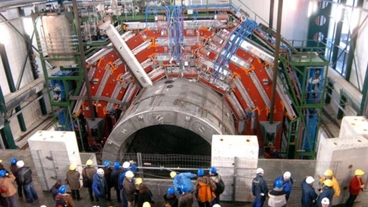 """le """"Grand collisionneur de Hadrions"""" (LHC) (AFP)"""