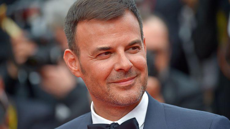"""François Ozon (ici à Cannes le 26 mai 2017) a tourné en secret à Lyon un film inspiré des victimes du père Preynat. """"Grâce de Dieu"""" sortira en principe le 20 février 2019. (LOIC VENANCE / AFP)"""