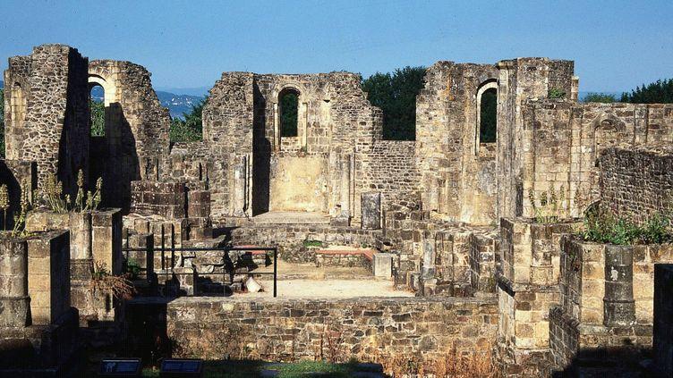 Le site exceptionnel de l'abbaye Landévennec désormais estampillé Musée de France.  (Photopqr / Le Télégramme / MaxPPP)