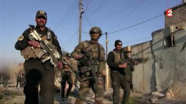 Mossoul : avec les forces spéciales françaises