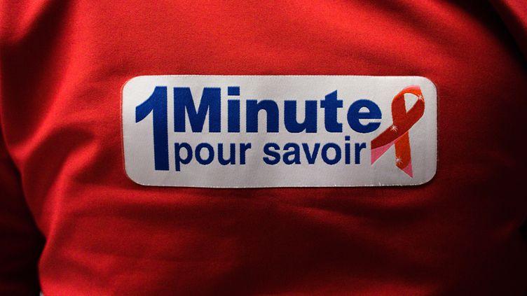 Une conférence démarre mercredi 9 octobre à Lyon pour récolter des fonds pour la lutte contre le sida (AURELIEN MORISSARD / MAXPPP)