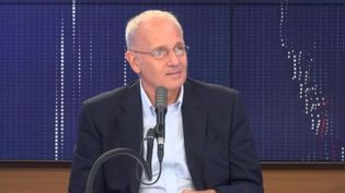 Jean-Yves Le Gall, président du Cnes. (FRANCEINFO / RADIOFRANCE)