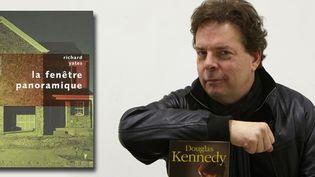 Le romancier américain Douglas Kennedy  (NICOLAS GAILLARD/APERCU/S/SIPA)