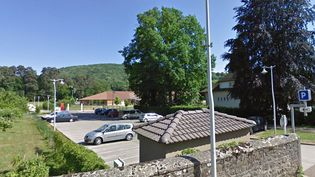 Capture d'écran du groupe scolaire Charles-Juliet, à Jujurieux (Ain). ( GOOGLE MAPS)