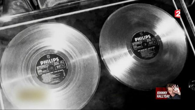 Johnny Hallyday : l'homme aux disques d'or