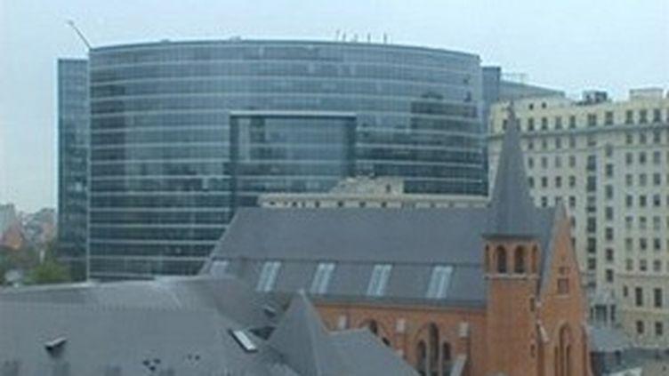 Le centre européen de Bruxelles. (© France 3)