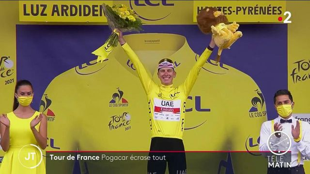 Tour de France: Tadej Pogačar écrase la course