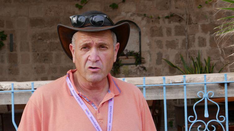 """David Frèche à Jaffa : """"De nos jours, c'est une ville avec des Juifs et des Arabes qui s'entendent bien"""" (EMMANUEL LANGLOIS / RADIO FRANCE)"""