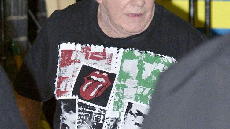 Freddie Starr, devant les studios de la chaîne ITV, à Londres, le 10 octobre 2012. (DAVID THOMPSON / REX / SIPA)