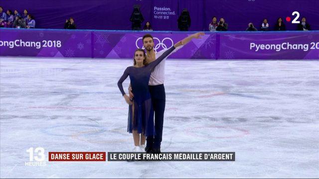 JO 2018 : le couple Papadakis-Cizeron médaillé d'argent