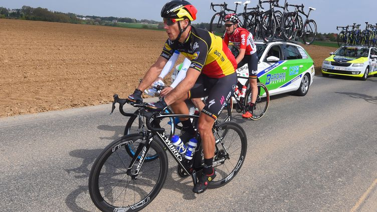 Philippe Gilbert lors de l'Amstel Gold Race de 2017 (DE WAELE TIM / TDWSPORT SARL)