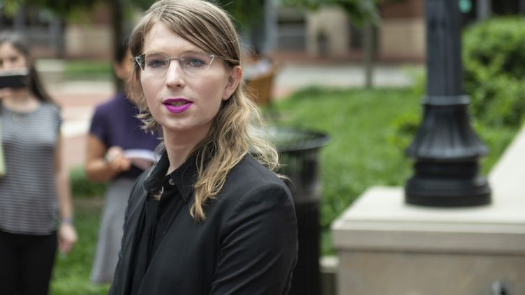 Chelsea Manning, ancienne analyste militaire, le 16 mai 2019. (ERIC BARADAT / AFP)
