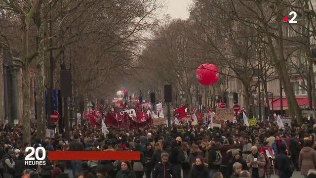 Fonctionnaires, cheminots : en marche contre Emmanuel Macron