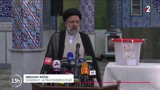 Présidentielle en Iran : le candidat ultraconservateur Ebrahim Raïssi donné favori