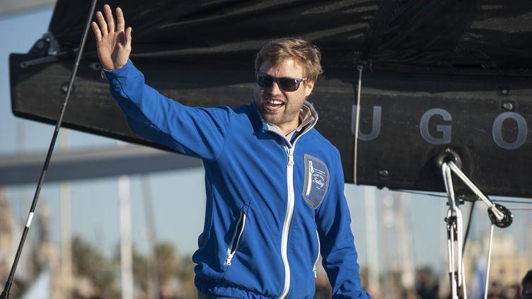 Alex Thomson, le skipper gallois.  (OLIVIER BLANCHET / OLIVIER BLANCHET)