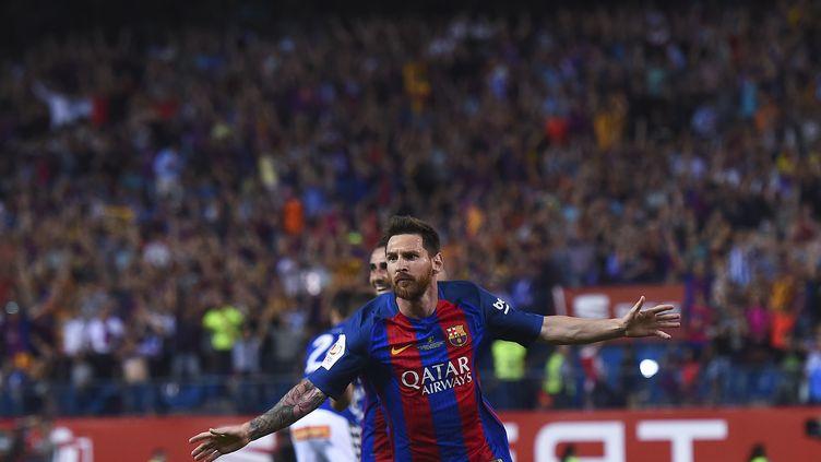 Lionel Messi encore auteur d'une grande finale face à Alaves (JOSEP LAGO / AFP)