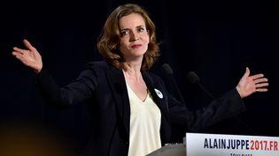 Nathalie Kosciusko-Morizet participe à un meeting à Toulouse (Haute-Garonne), le 22 novembre 2016. (REMY GABALDA / AFP)