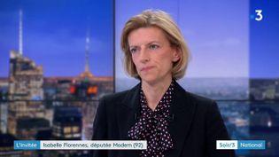 Isabelle Florennes (MoDem) (France 3)