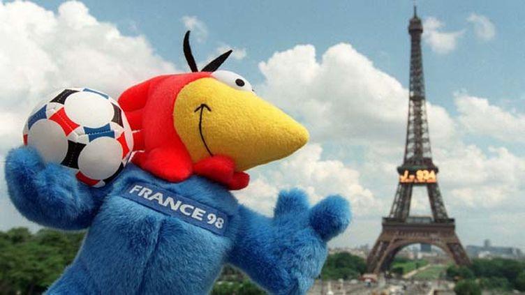 (Footix, la mascotte du mondial 98 organisé en France © MaxPPP)