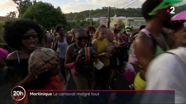 Martinique : le carnaval coûte que coûte