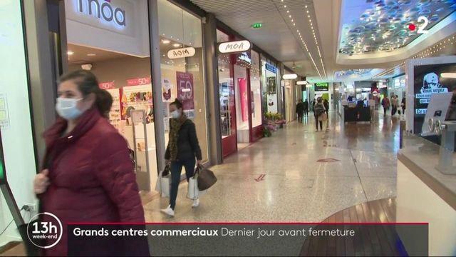 Covid-19 : dernier jour avant la fermeture des grands centres commerciaux