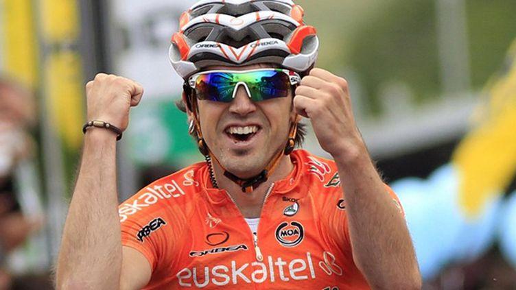 Jon Izagirre, vainqueur sur le Giro 2012 (LUK BENIES / AFP)