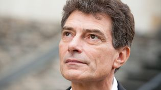 Le secrétaire national d'Europe Ecologie-Les Verts, Pascal Durand, le 26 septembre 2013, à Angers (Maine-et-Loire). (MAXPPP)