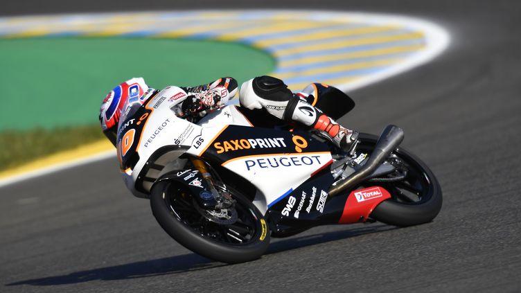 Alexis Masbou sur la Peugeot au Mans (GIGI SOLDANO / DPPI MEDIA)
