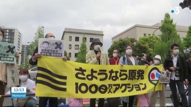 Japon : l'eau contaminée de la centrale de Fukushima reversée en mer
