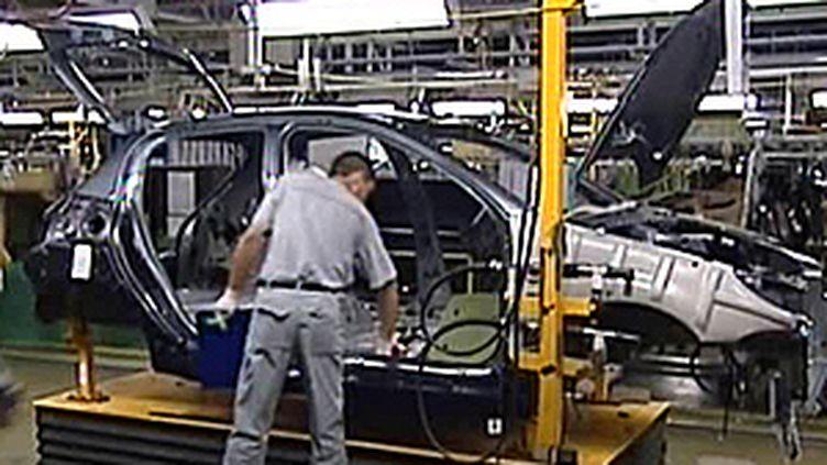 Aide à l'industrie automobile (France 3)