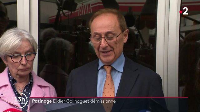 """Violences sexuelles dans le patinage : Didier Gailhaguet démissionne """"devant la dictature ministérielle"""""""