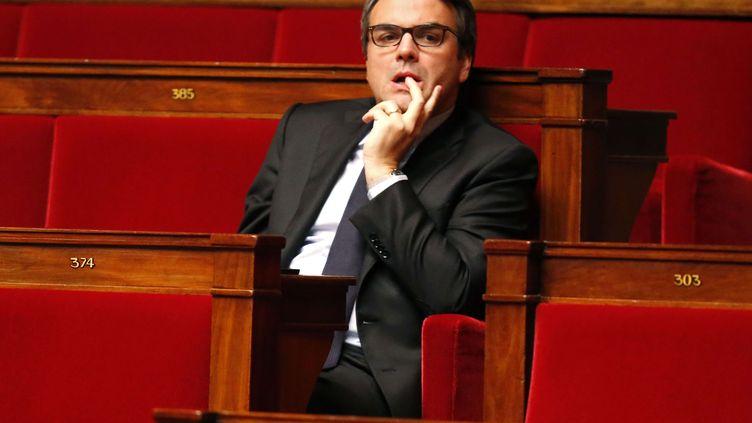 Le député Thomas Thévenoud à l'Assemblée nationale, le 28 novembre 2014. (MICHEL EULER / AP / SIPA )